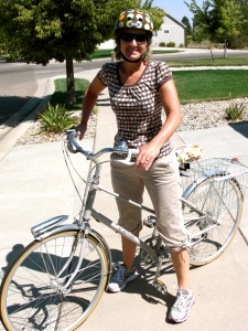 I love riding my townie bike. Fort Collins has lots of trails.