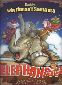 Santa Elephants cover